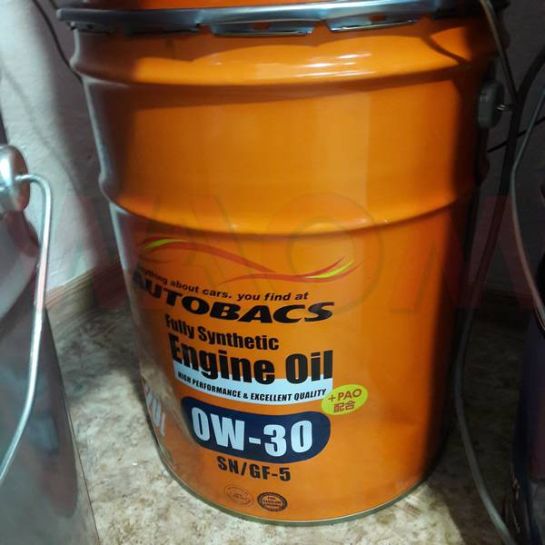 Масло моторное Autobacs Engine oil FS 0w-30 SN/GF-5+PAO 20л