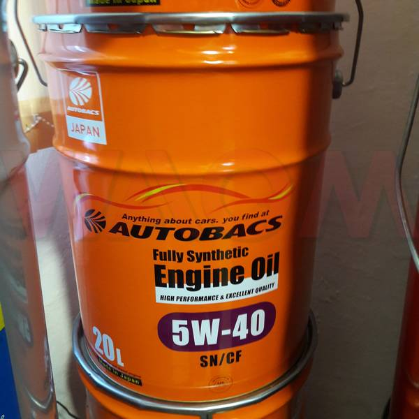Масло моторное Autobacs Engine oil FS 5w-40 SN/CF 20л