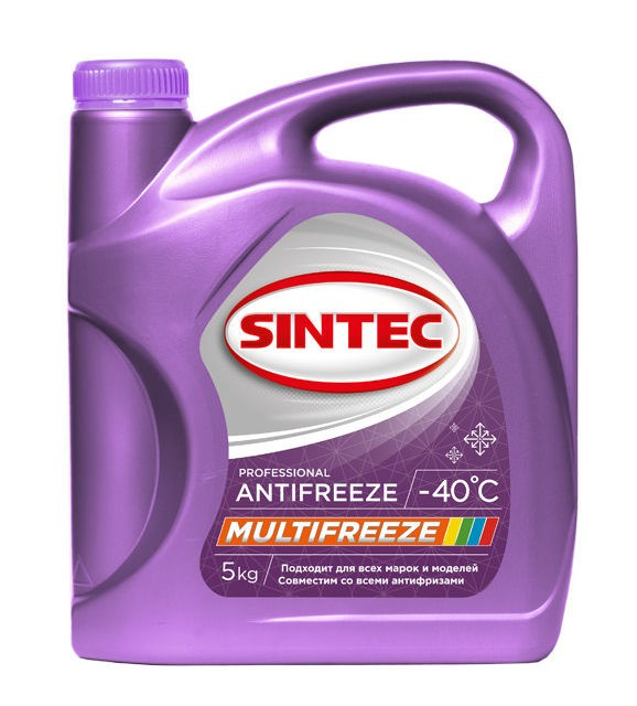 Антифриз Sintec Multi freeze 5кг