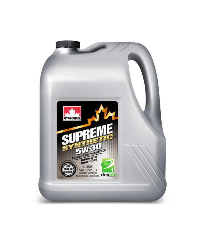 Масло моторное Petro-Canada Supreme Synthetic 5W-30 SN PLUS/RC GF-5 4л