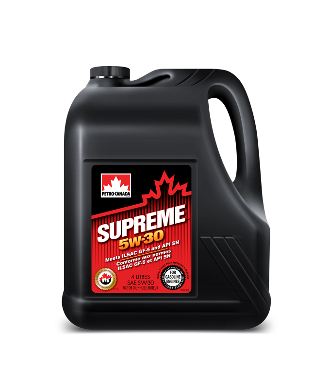 Масло моторное Petro-Canada Supreme 5W-30 SN PLUS/RC GF-5 4л