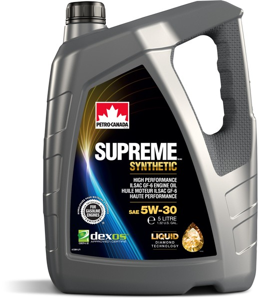 Масло моторное Petro-Canada Supreme Synthetic 5W-30 SP GF-6A Dexos 5л