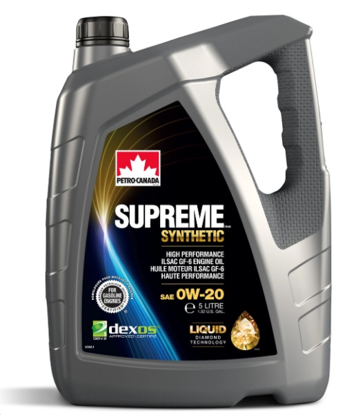 Масло моторное Petro-Canada Supreme Synthetic 0W-20 SP GF-6A Dexos 5л